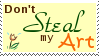 STAMP:  Don't Steal my Art by djRimzi