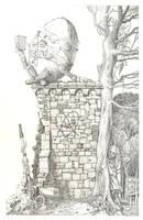 Humpty Dumpty sat on a wall .. by maryanne42