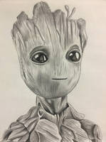 Baby Groot by Starr-Fall