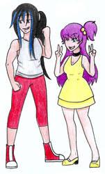 Cassandra x Melissa by Hitomi-chan666