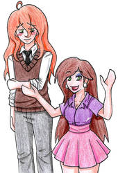 Walter and Annie by Hitomi-chan666