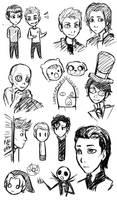 Fandom Doodles by 10yrsy
