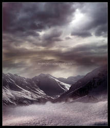 Twilight Mountains.. by arcangelic