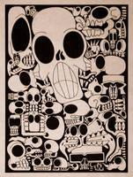 Skull Motif by epnine