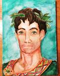 Portrait of a Greek  by anelphia