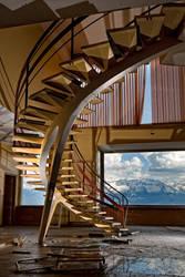 L'escalier du CMC by flop404