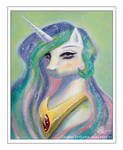 portrait of a Princess by CosmicUnicorn