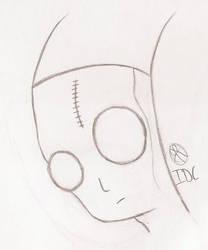 Alien Dude by Flamboyant-Pencil