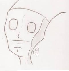 Alien Dude Part Deux by Flamboyant-Pencil