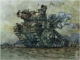 Cyclops Mk. I of the Royal Heavy Metal Brigade by tomzoo