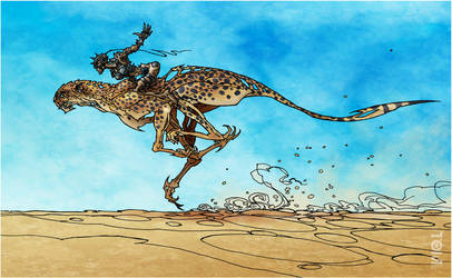 Cheetah Speed by tomzoo