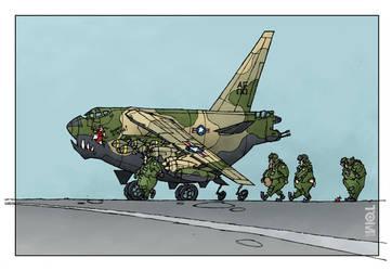 B-52 BUFF - Big Ugly Fat Fellows by tomzoo