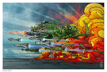 A-10 Warthog Madness by tomzoo