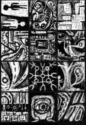 Doodles Set 001 by inventivedreams