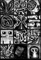 Doodles Set 005 by inventivedreams
