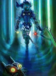 THE LEGEND OF ZELDA FIERCE DEITY MASK by Phoenixboy