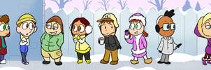 Winter Kids by EarthVStheDerek