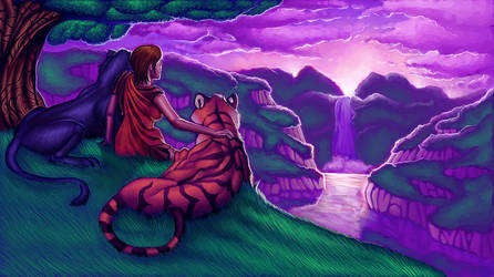 Promised Paradise by toshema