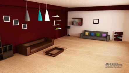 A Living Space by saifulkader