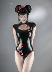 Bodysuit Geisha by matmam