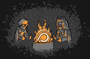 Burning Patreon by ben-saint