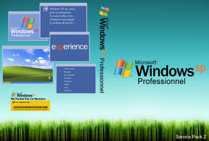 Windows XP Pro SP2 Cover by B3RG3R