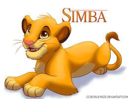 Simba Cub by BosleyBoz
