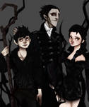Nightmare family -Pitch, Elsa and Jack- by sibandit