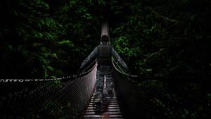 PointBlank Wallpaper - Running On The Bridge by TheDamDamBW12