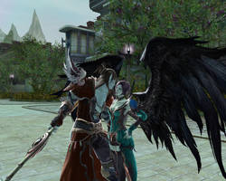 Aion: Asmodian Cleric, Chanter by wingsoffreedom