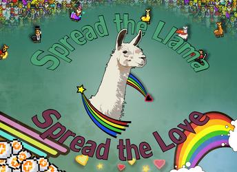 Spread the Llama by PsychotropicCherries