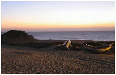 Praia de Alfarim by fredl