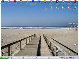 My desktop by fredl