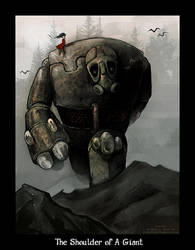 Shoulder of a Giant by KinkyAzianKitty
