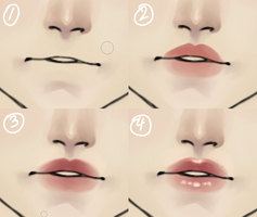4-Step Guide To Lips by Noizora