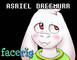 Asriel FaceRig by StarWarriors