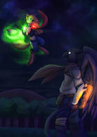 Encounter with a Gryphon! by StarWarriors