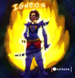 Starwarrior OC - Igneos by StarWarriors