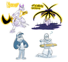 Raffle drawings November 2017 by StarWarriors