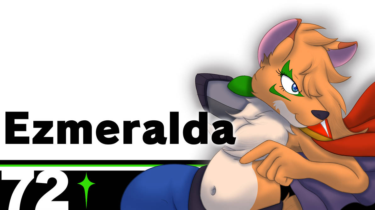 Monthly Character - Ezmeralda in smash! by StarWarriors