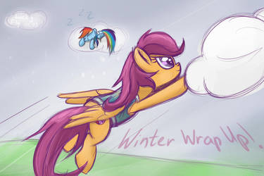 Winter Wrap Up by RedheadFly