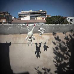 Falling, catching by SebastienTabuteaud