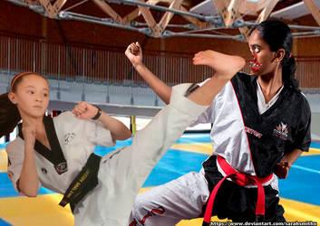 Shocking fight by SarahSmithX