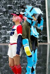 Haruko + Canti by garion