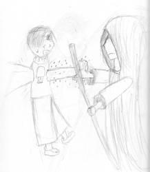 Zombie Hole Sketch by Ninjaboy56