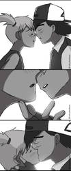 Kiss Me (Ash and Misty - Pokeshipping) by NatyBarbosa
