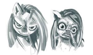 Angry Pinkie by kvernikovskiy