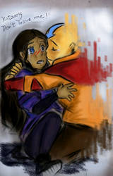 Don't leave me aang by aogs47777