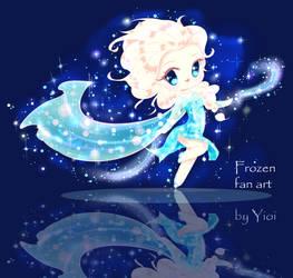 Elsa Fan Art by Yioi