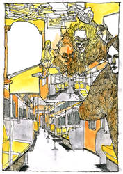 subway sketch by doctajules